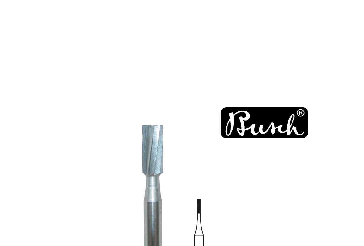 BR1015/ 5 Busch Bur, Cylinder Square Plain, Fig. 15, Size 016- Grobet # 18.480