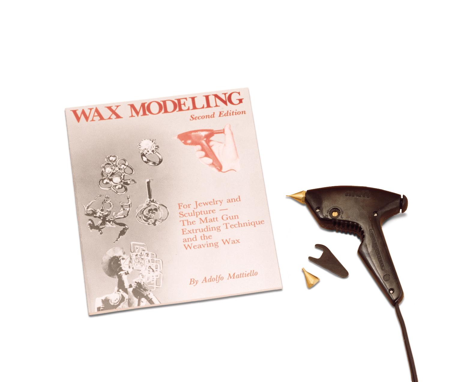 CA955 Matt Wax Modeling Kit (Matt Gun Kit)