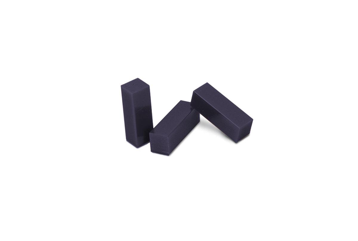 CA502 Ferris Wax, File-A-Wax, Package of 3 Bars, Purple, Grobet # 21.302