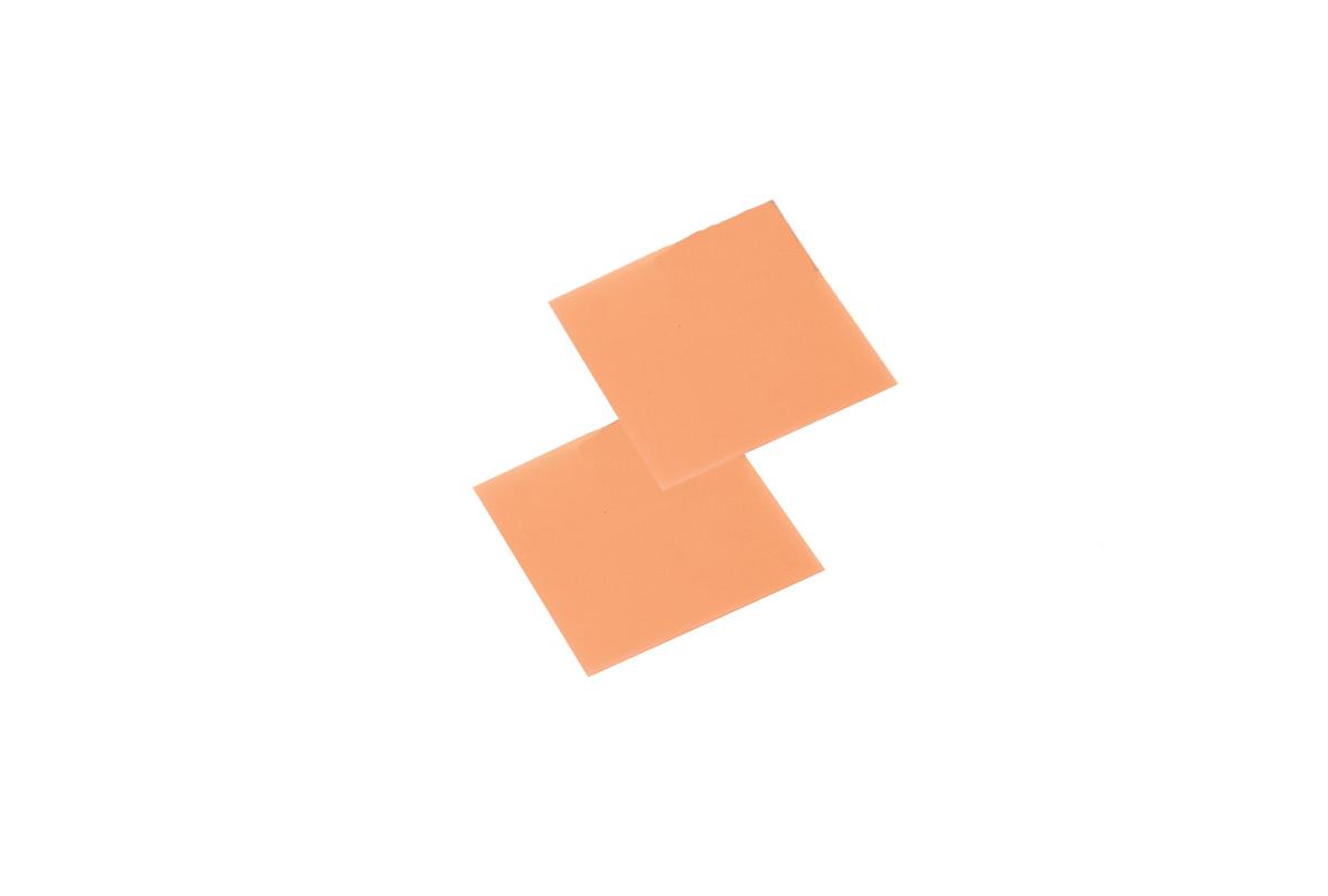 """CA627 Sheet Wax, Pink/Soft, 4"""" x 4"""", Assorted, Grobet # 21.471"""