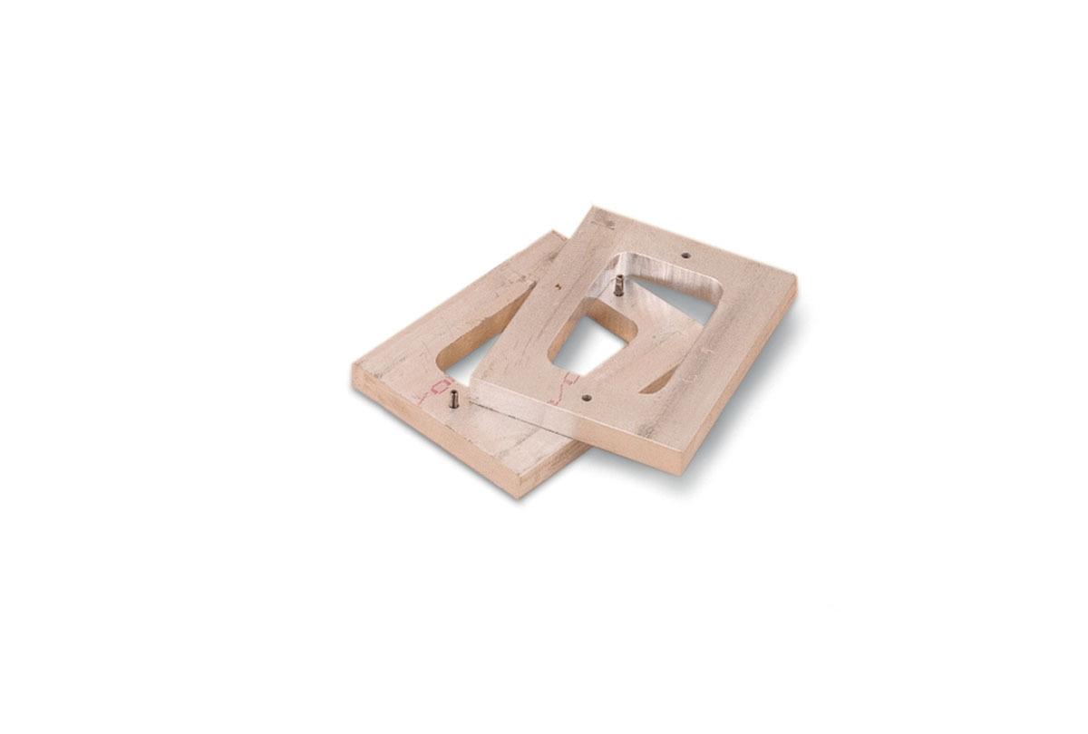 "CA1122 Mold Frame 1-7/8"" X 2-7/8"" X 1"" Grobet # 22.557"