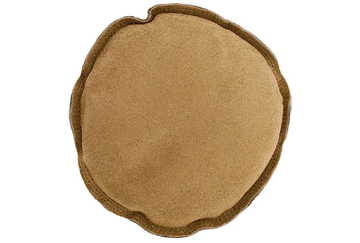 "25.485 New! 6"" Round Leather Sandbag- Grobet- Special Order"