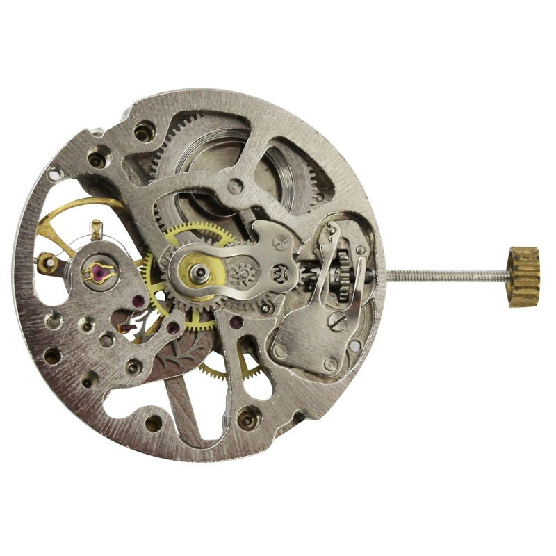CHI2650S Chinese Skeleton Mechanical Watch Movement