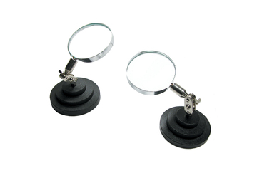 EL357 Magnifying Glass on Stand- Grobet #29.71010