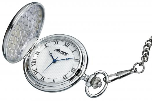 PW3363 New! Pocket Watch- Silver- Alpine!