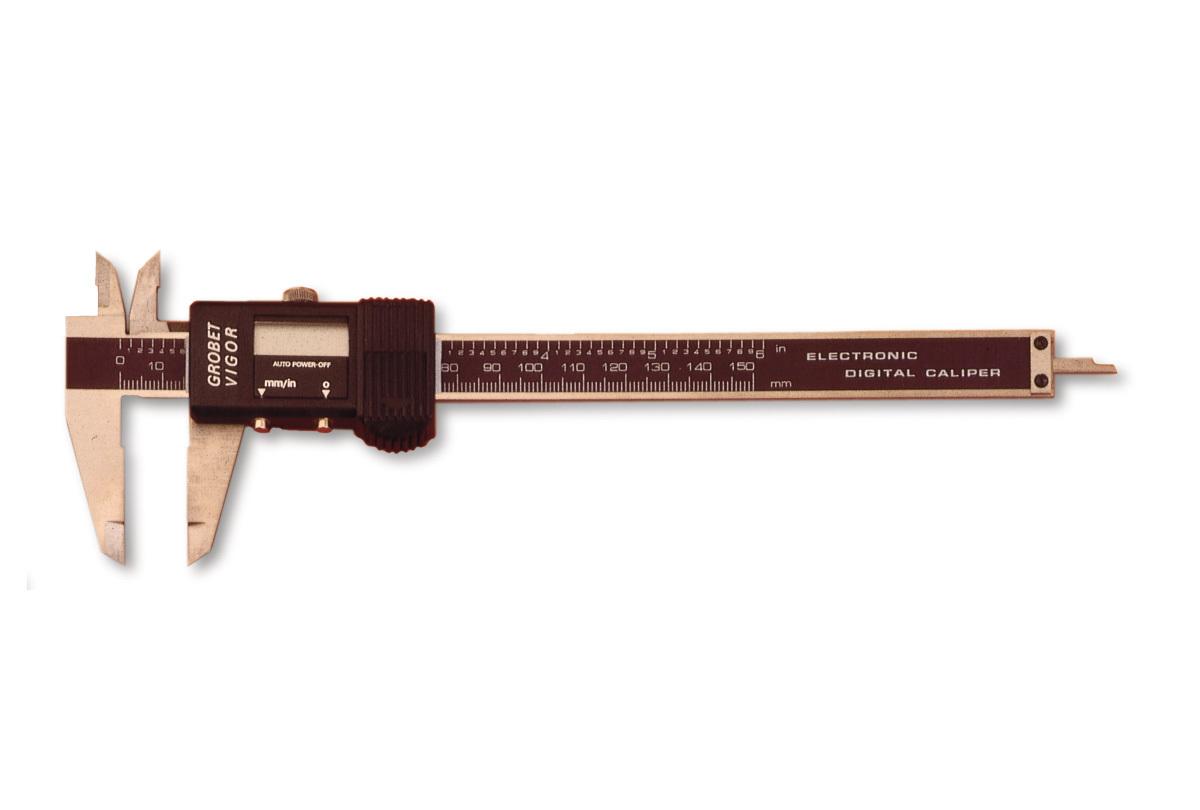 GA182 Instant Readout Precision Digital Caliper - Grobet # 35.180 Top Seller!