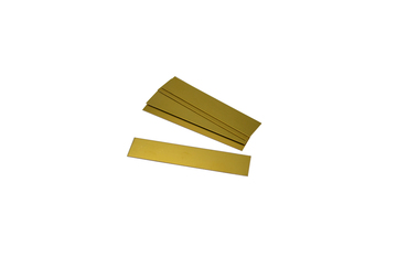 EN1556 Brass Plates for Engraving, Pack of 12-Grobet # 36.01556