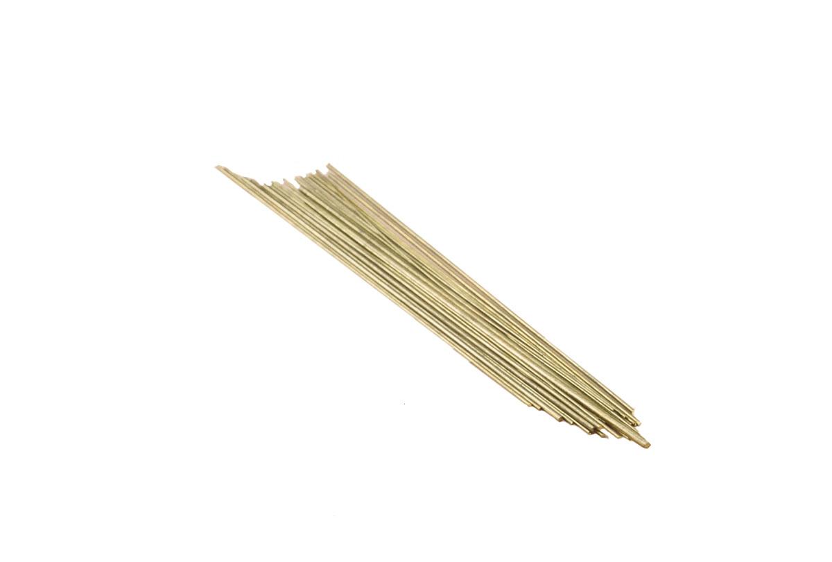 WR608 Wire-Brass Assorted 20/70, Grobet # 43.500