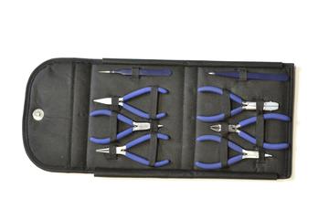 46.395 Complete Plier/Tweezer Tool Set – 8 Pieces- Grobet