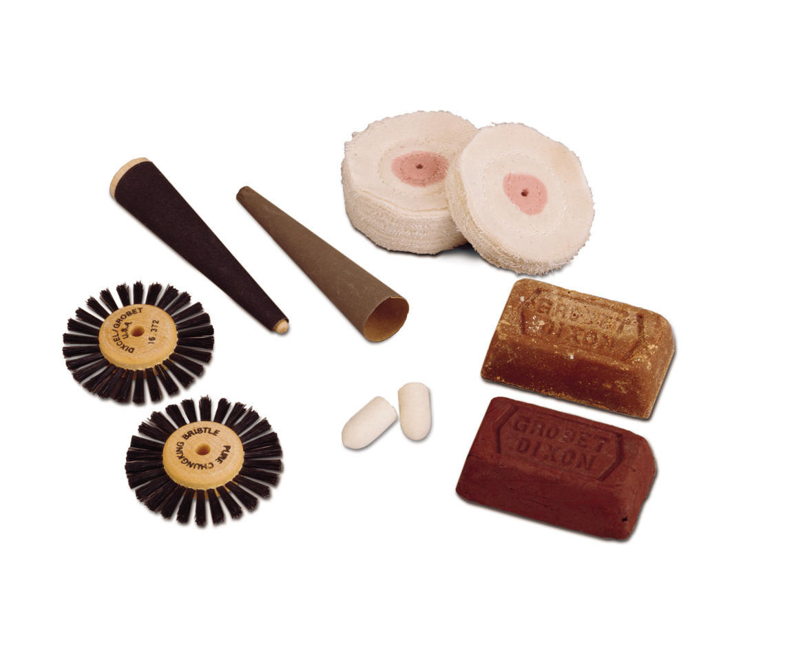 BF1040 Polishing/Buffing Kit for Small Motors Grobet #47.026