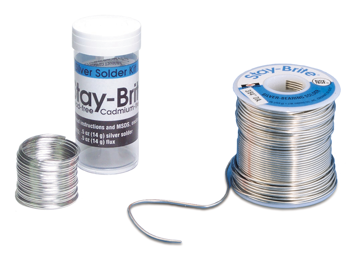 54.456 Stay-Brite Solder 1 lb spool