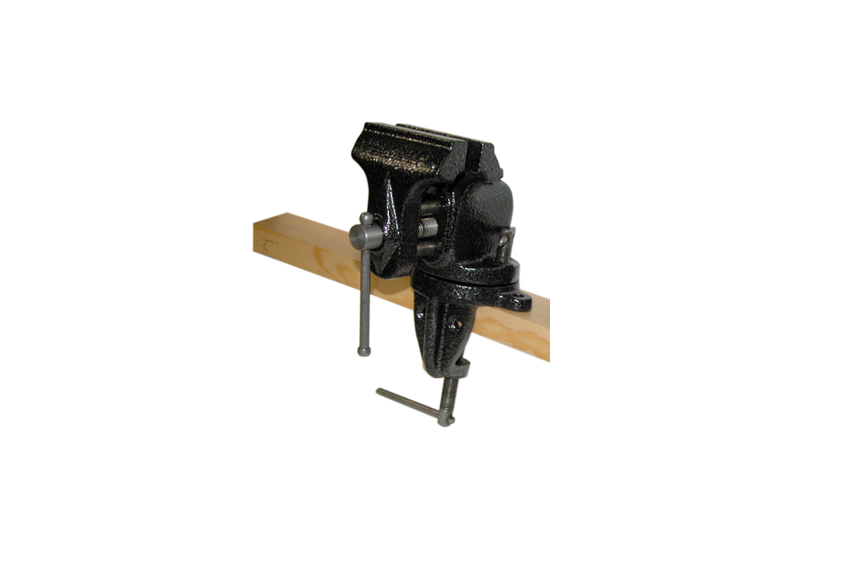 "VS521 Swivel Bench Vise, Smooth, 2-1/2"", Grobet # 58.104"