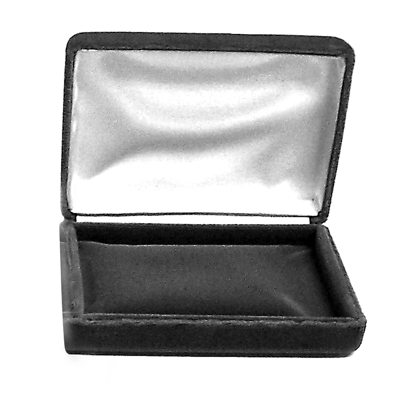 5BV/5 grey Velvet Bangle Bracelet Box --sold by the dozen