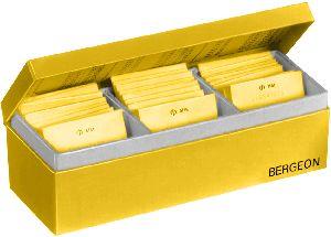 6630-120 Bergeon Flat Rubber Caseback Gaskets Assortment