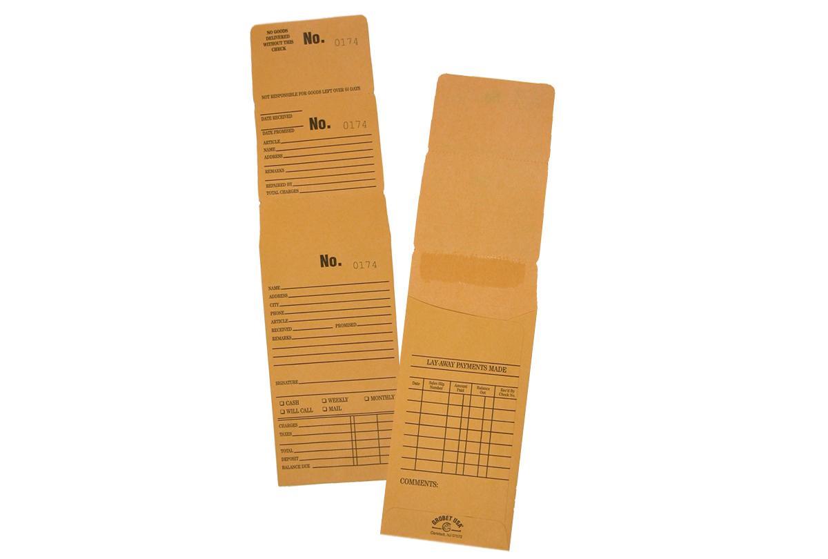 "EV110/6 Triple Duty Repair Job Envelopes--""Premier"""