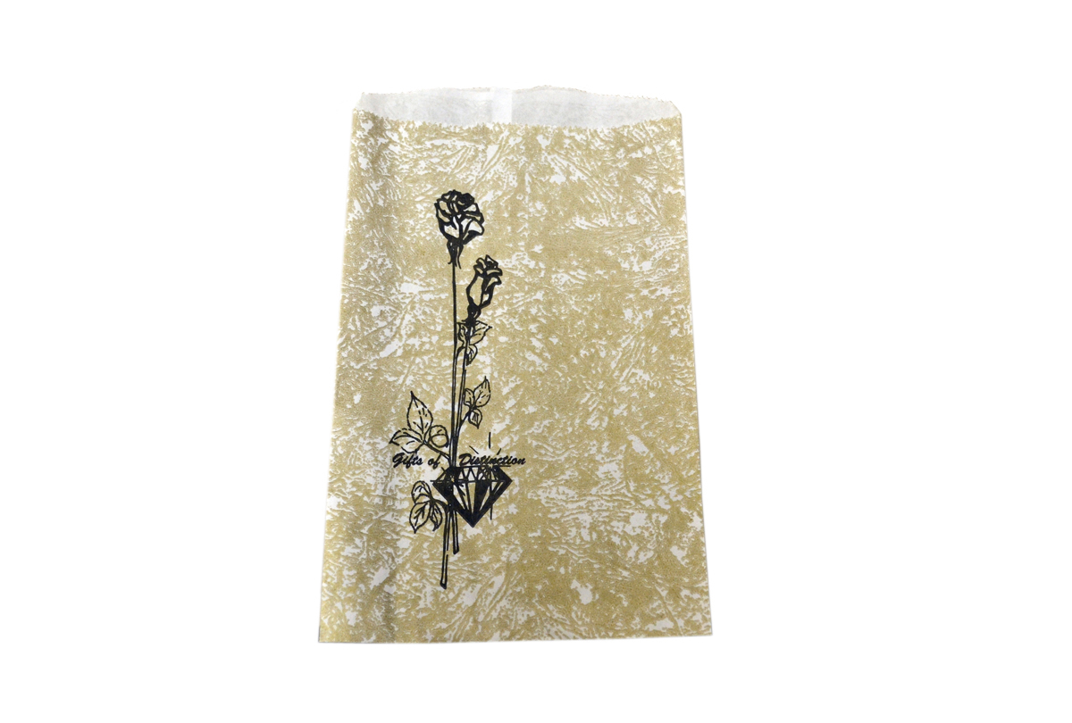61.180 Gift Bags-6X9 Gold 1000/Bx- Special Order- Grobet