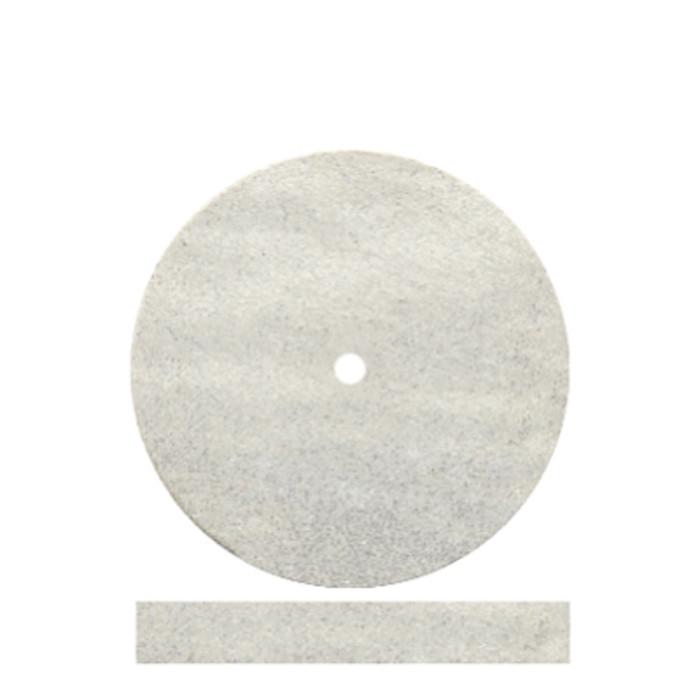 """ST5009 Dedeco CLASSIC WHITE FLEXIES RUBBER WHEELS (7/8"""" x 1/8"""")"""