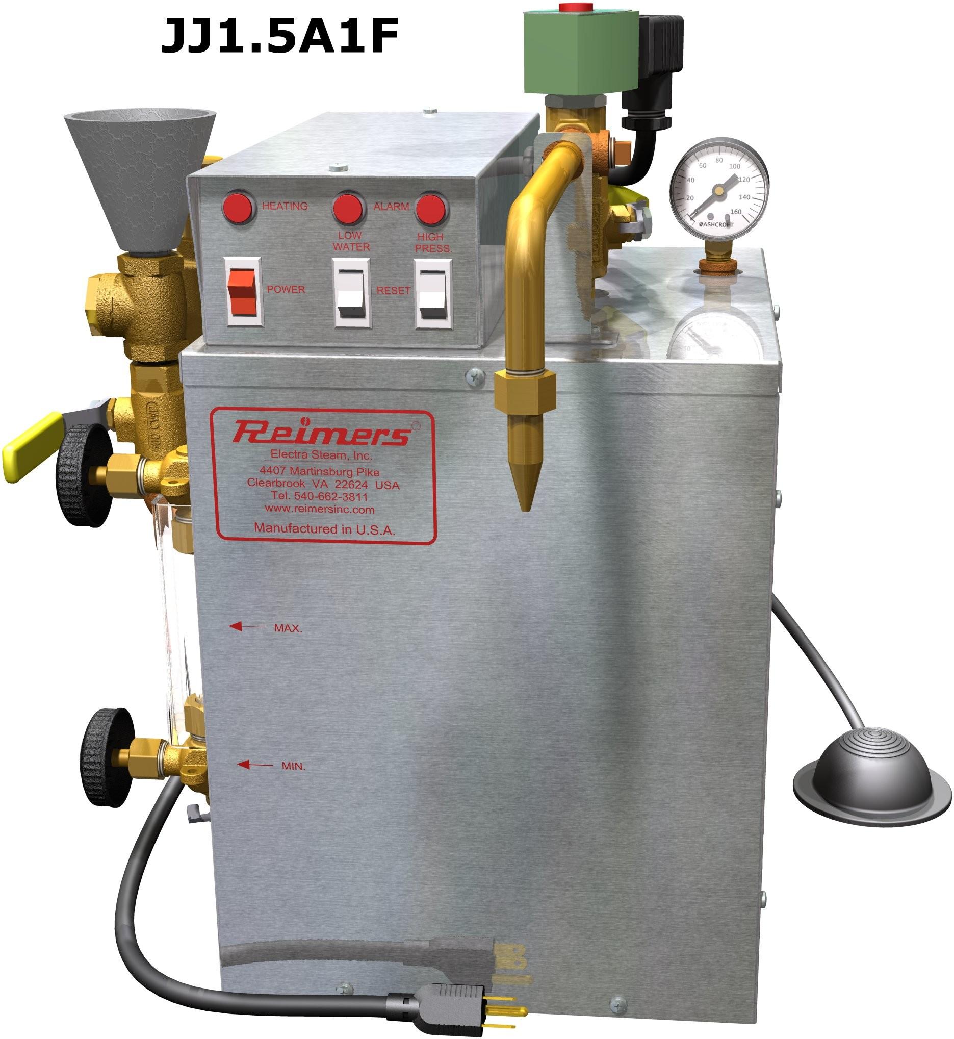 CL150 Reimer Steamer (Boiler)