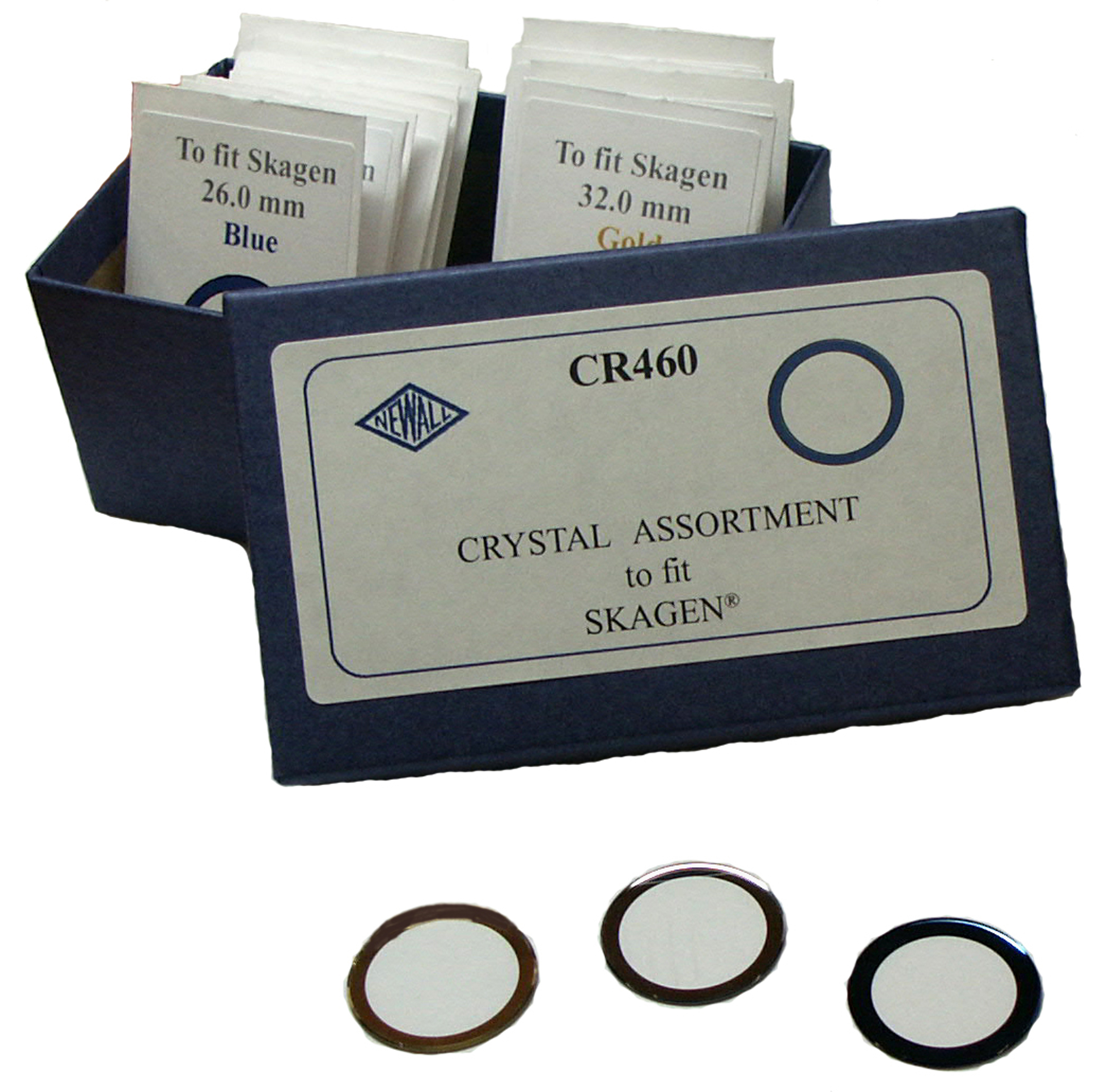 CR460 Crystal Assortment to fit Skagen Watches -- 16 pieces Generic