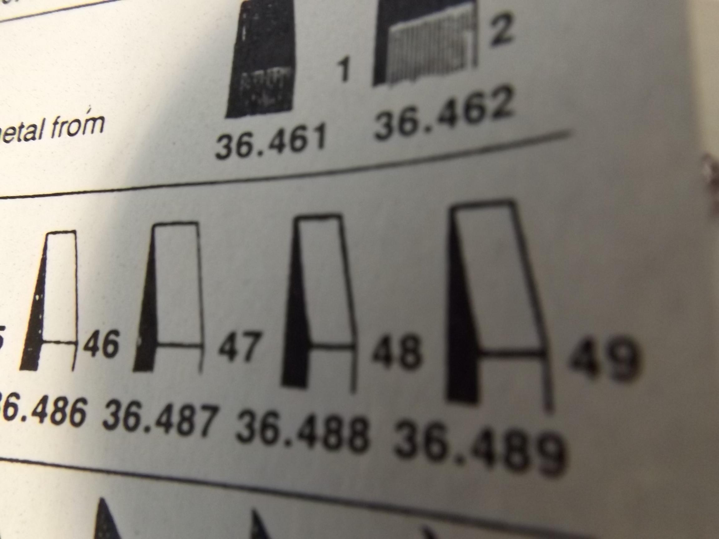 36.489 Muller Flat Graver--#49--Grobet-- Discontinued Item!
