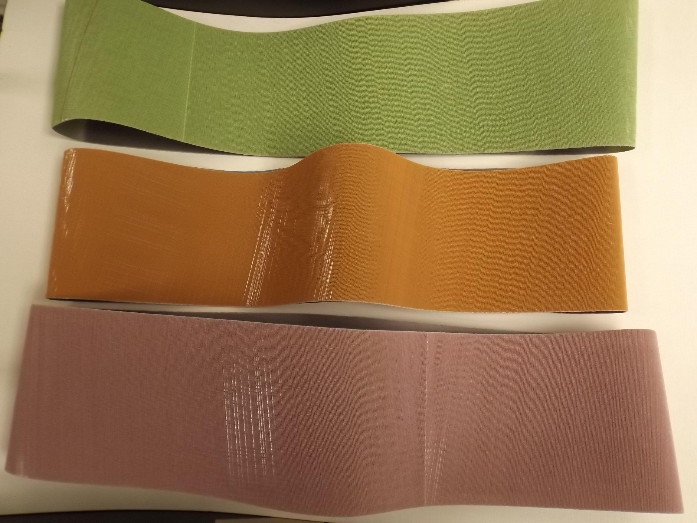 10.371/10.372/10.374 3M Trizact Belts- Pkg of 3 Grits-400, 600, 2000 - Grobet