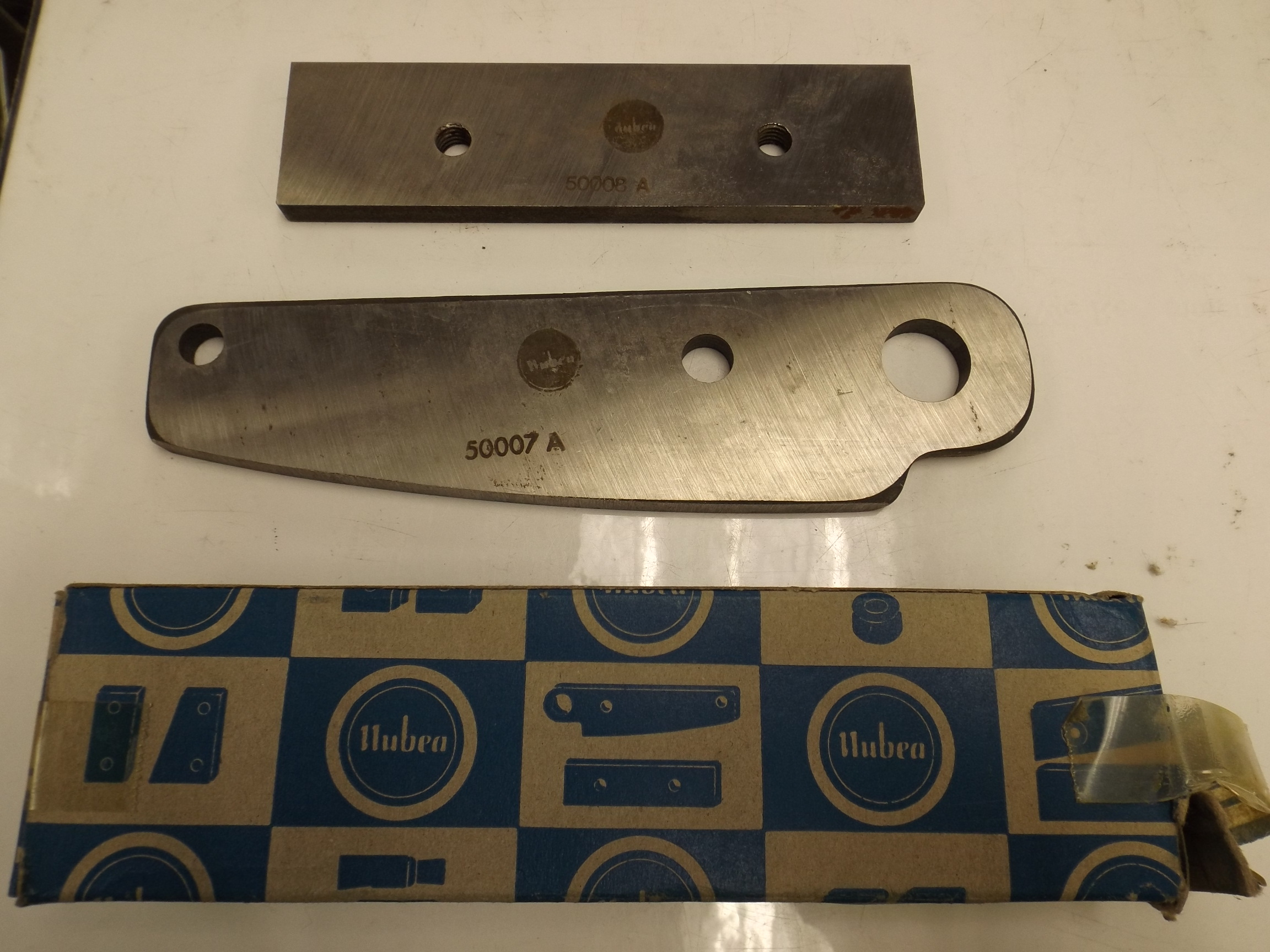 53.920/53.921 Replacement Blade Set for Bench Shears--Grobet--Discontinued item!