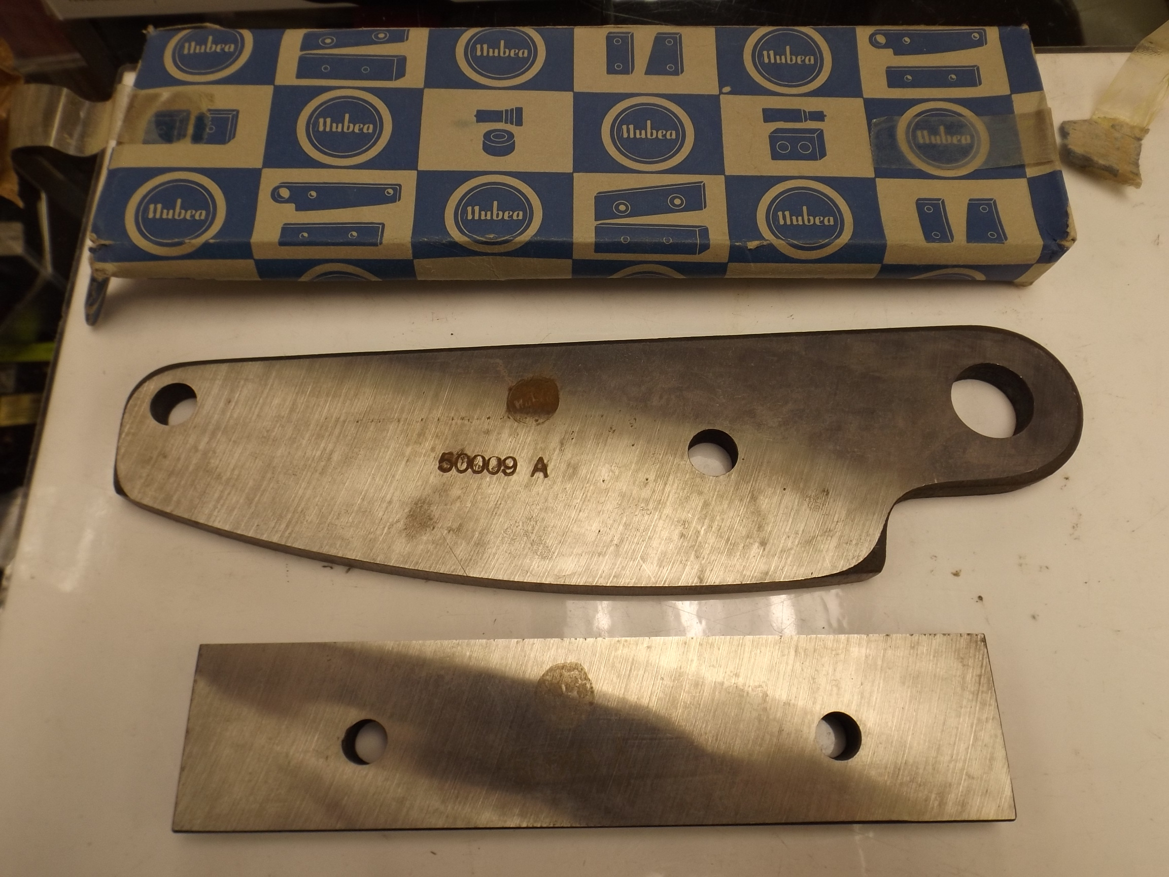 53.910/53.911 Replacement Blade Set for Bench Shears--Grobet--Discontinued item!