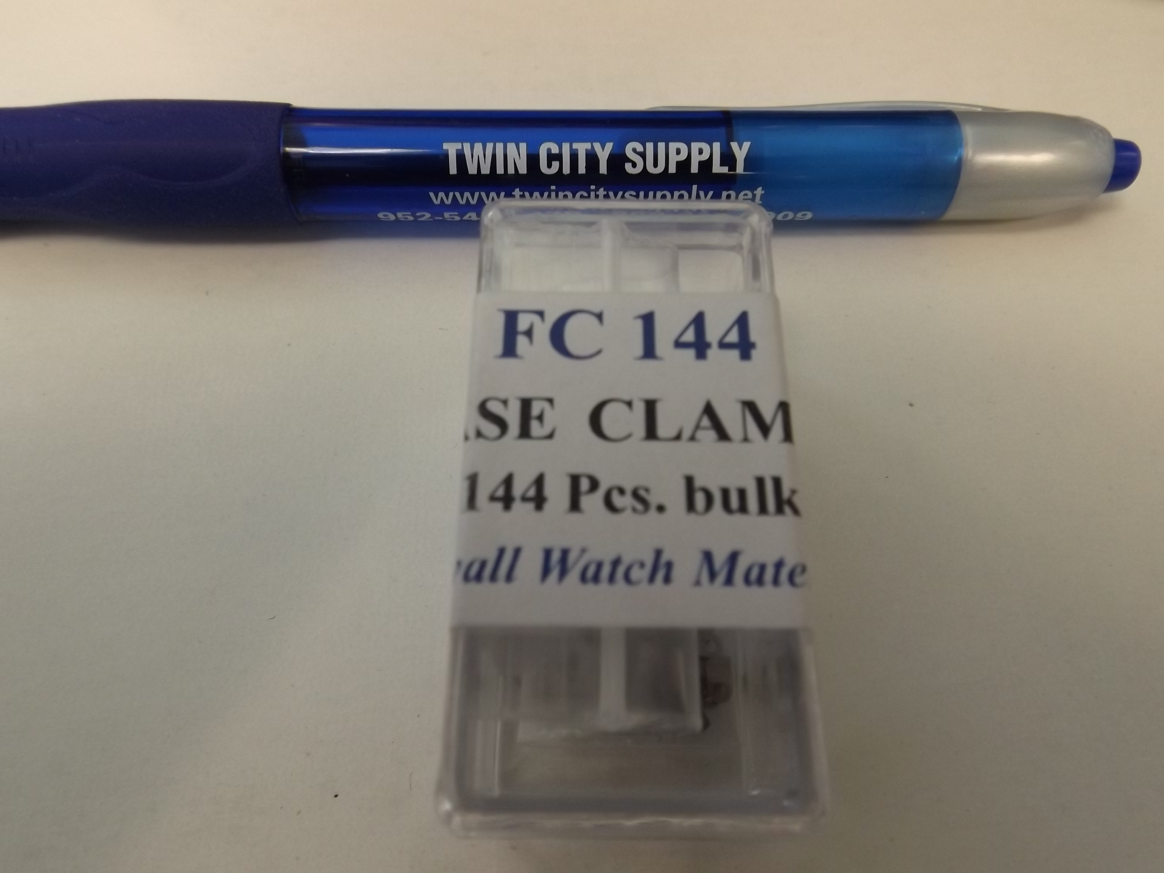 FC144 Case Clamp Assortment--144 pieces-Bulk-Newall
