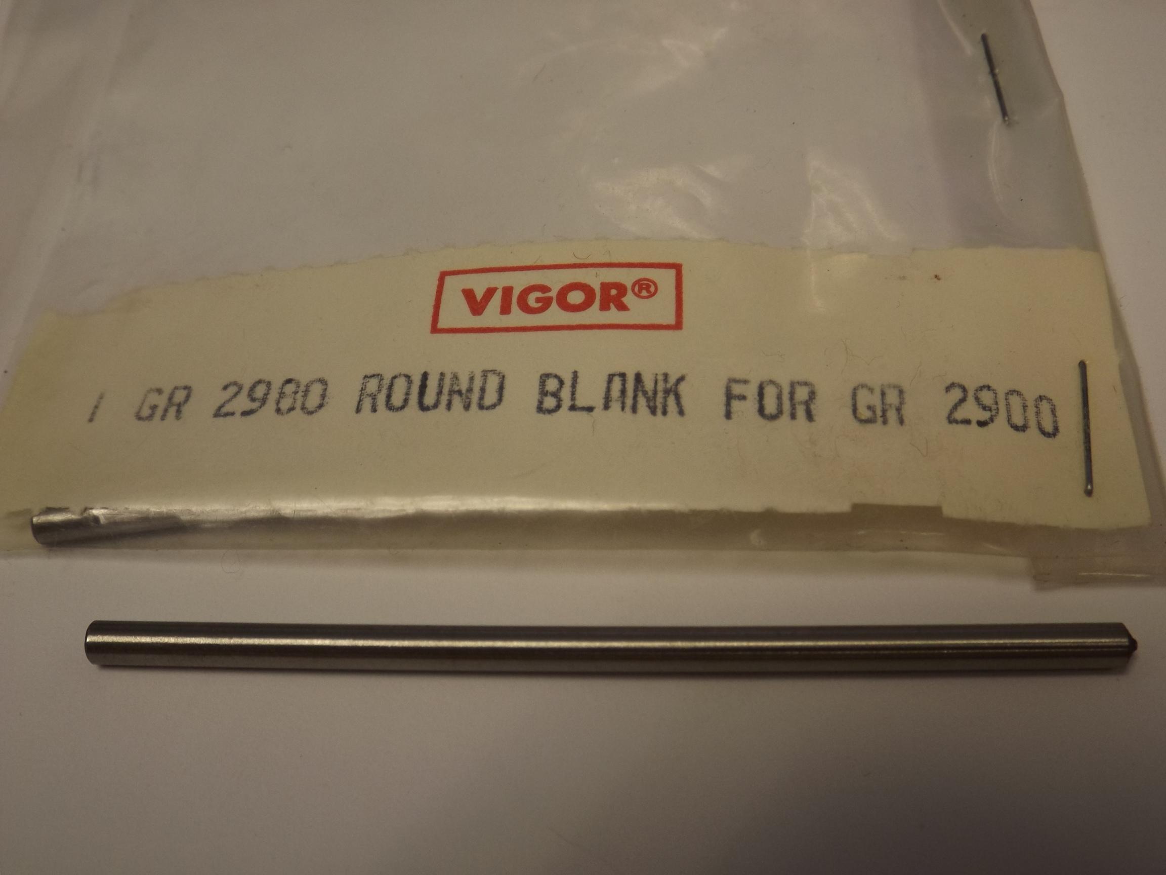 GR2980 Round Blanks for the Magna-Graver