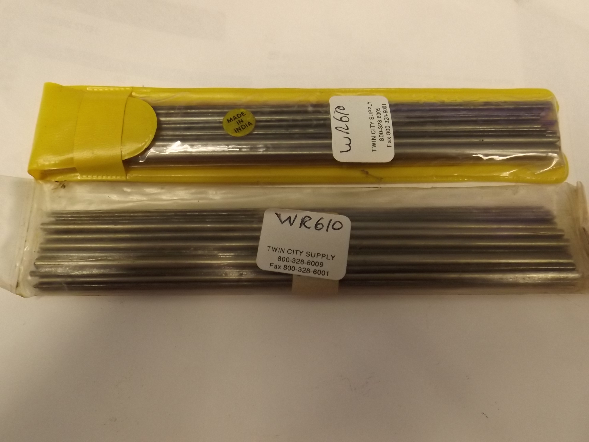 WR610 Wire Steel Assortment- Approx 37 pieces- While they last!