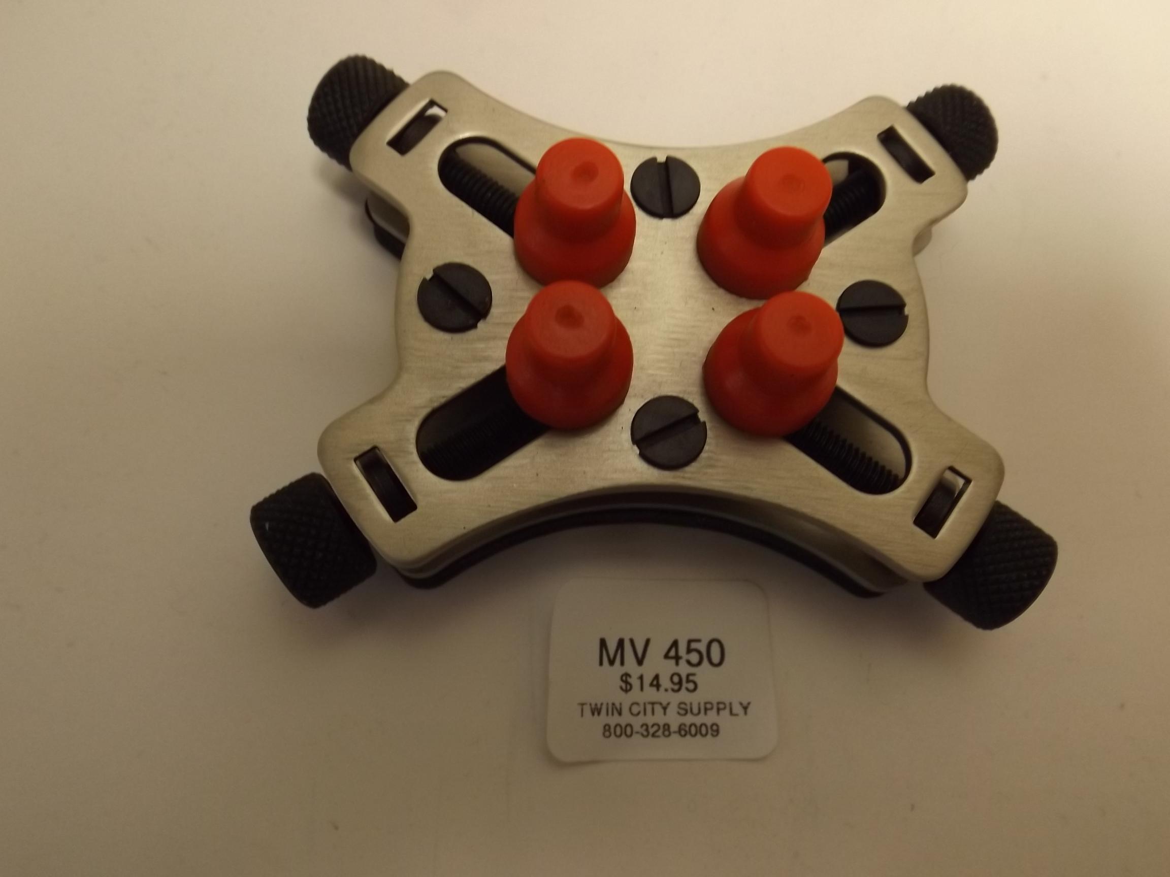 MV450 New! Watch Case Holder--45 mm Capacity- Anchor/Acon #1611