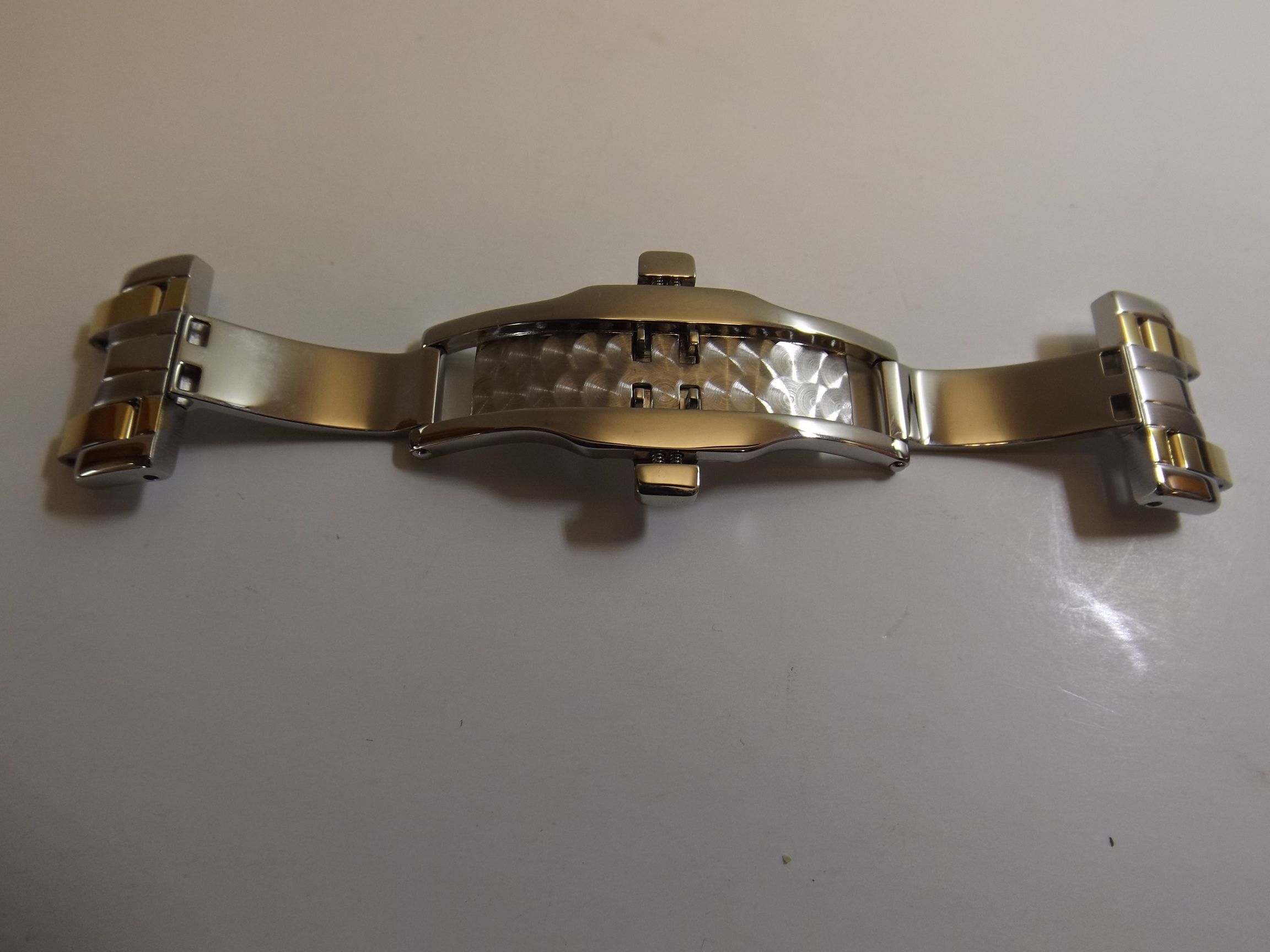 BK-S00842 Citizen Two Tone Push Button Clasp--for case #G820-S012261 -One Only
