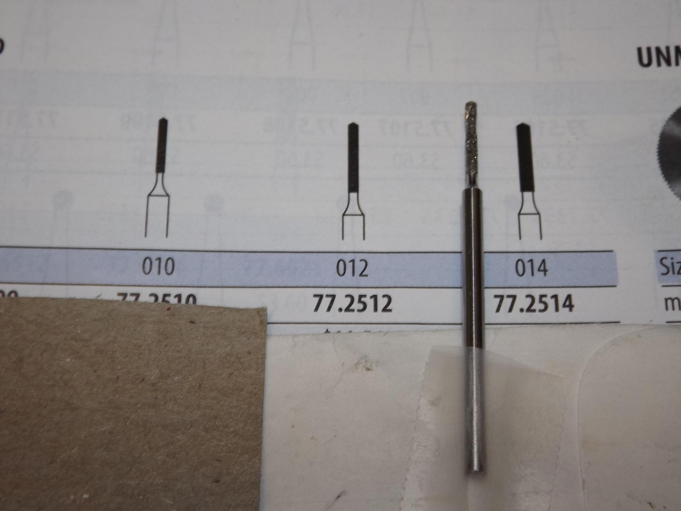 DR77.2514 Panther Brand, Diamond Twist Drill-Size 014 #77D- Grobet #77.2514