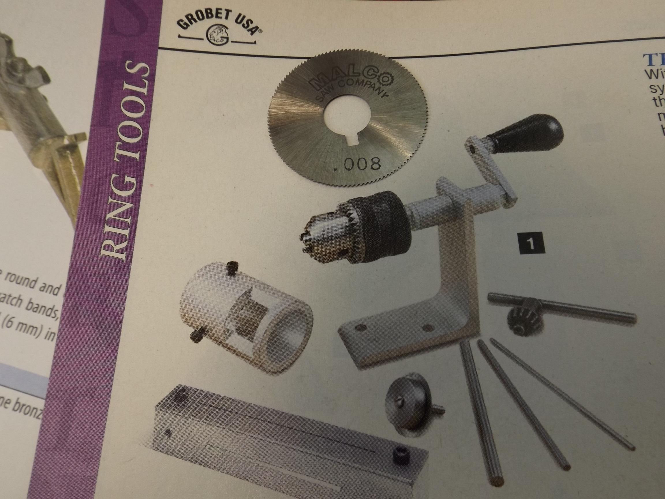 43.114 Saw Blade for Grobet Jump Ringer Machines- HO701/1