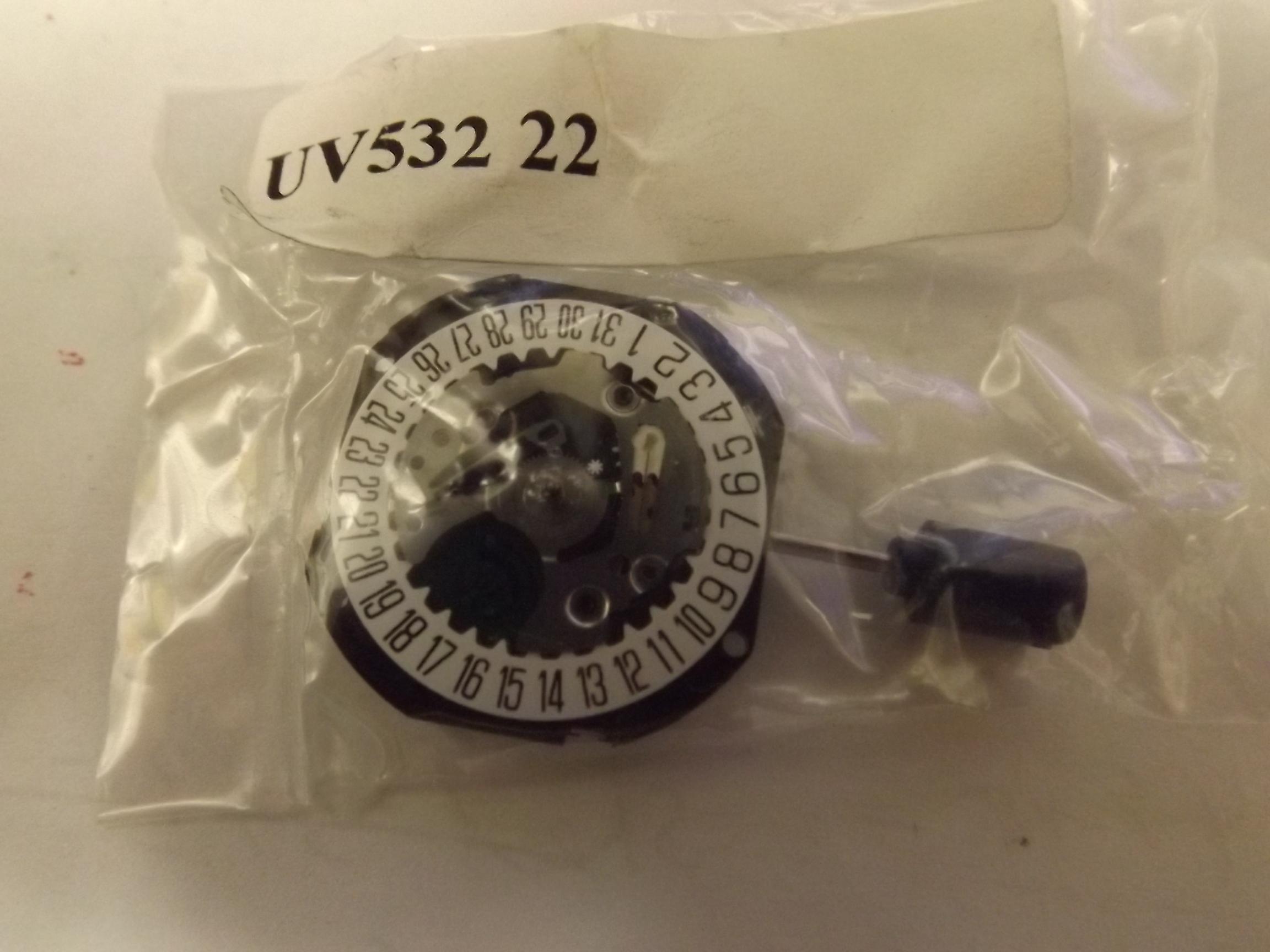 V532-22 Seiko Quartz Watch Movement