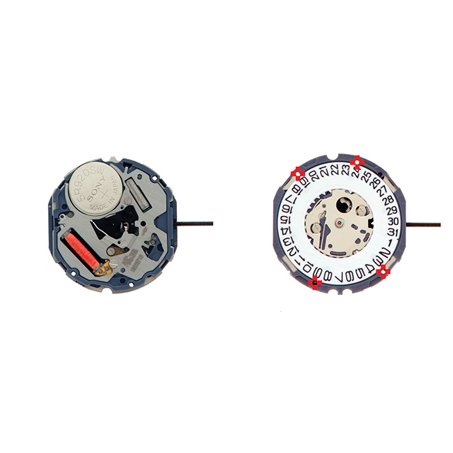 ELE5D20 Elemex Quartz Watch Movement