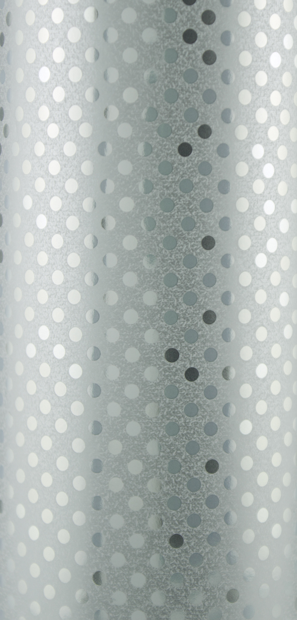 PA802 Jewelers Roll Giftwrap Sterling Dots