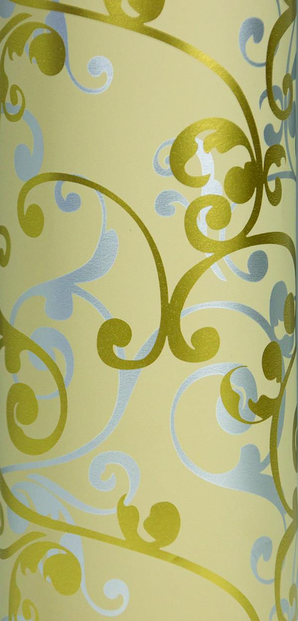 PA851 Jewelers Roll Giftwrap- Champagne Scrolls