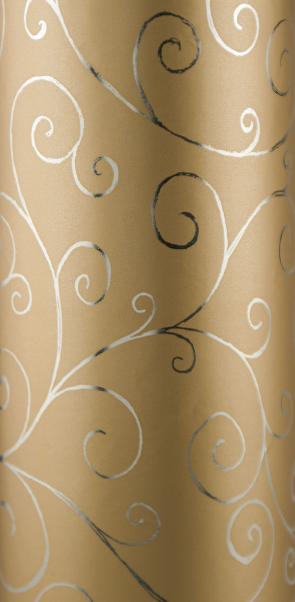 PA805 Jewelers Roll Giftwrap Classy Curls