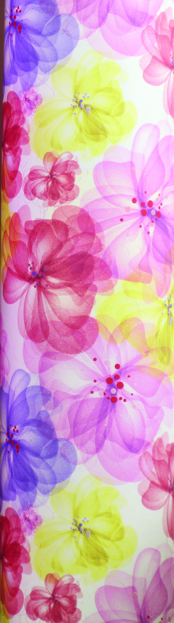 PA858 Jewelers Roll Giftwrap- Spring Beauty