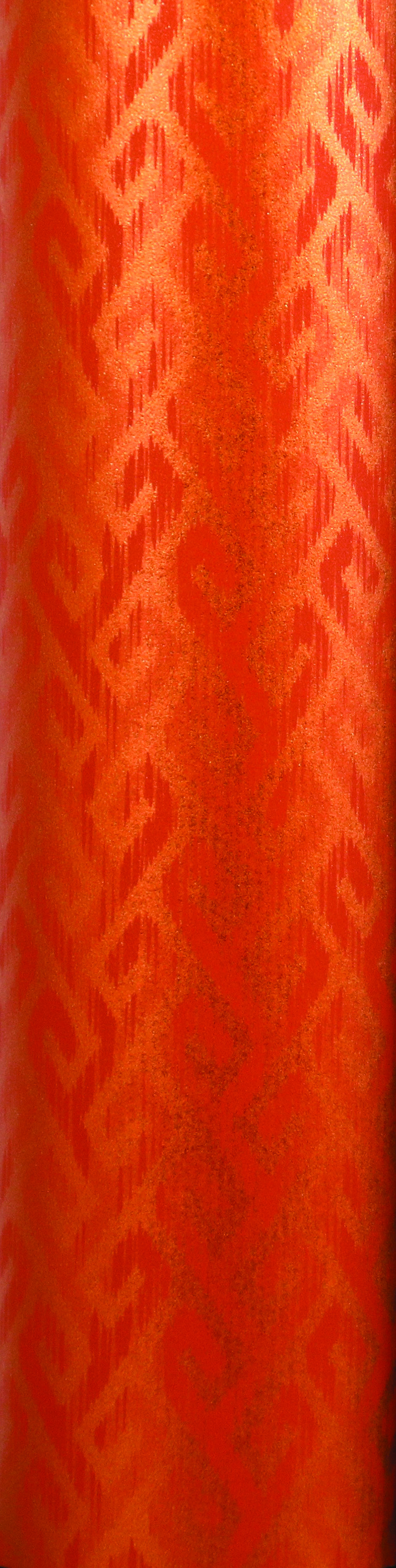 PA853 Jewelers Roll Giftwrap- Tangerine Spice