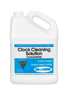 CL134 L&R Clock Cleaning Solution Concentrate--Gallon