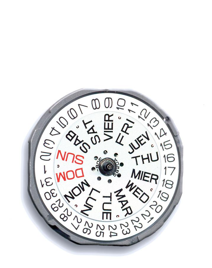 MIY 1M02 Miyota Quartz Watch Movement