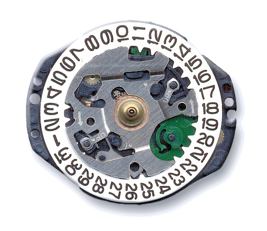VX82 Pulsar Quartz Watch Movement
