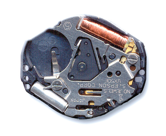 VX50 Pulsar Quartz Watch Movement