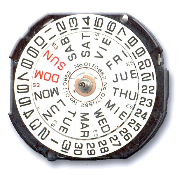 V533-20 Seiko Quartz Watch Movement