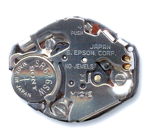 Y121 Pulsar Quartz Movement