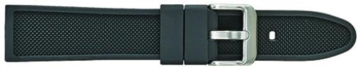 S1800.1 Silicon Sport Band Black 18-24mm Alpine New!