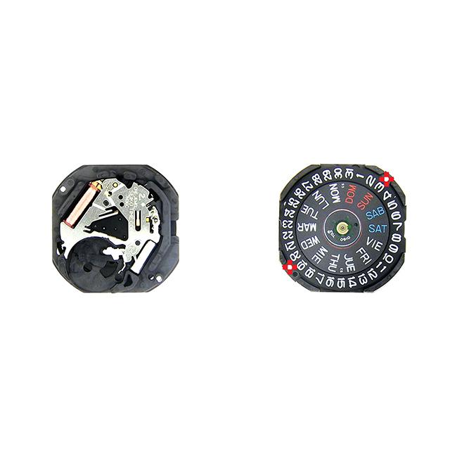 7N36-20 Seiko Quartz Watch Movement