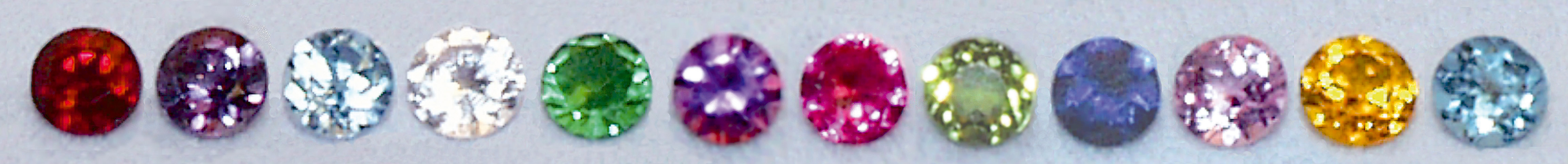 FB408/02 Genuine Swarovski Crystals/Foilbacks--Round FEBRUARY 2.0mm